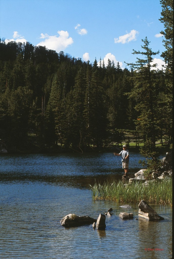 Mike Fly Fishing Beartooth Mountains