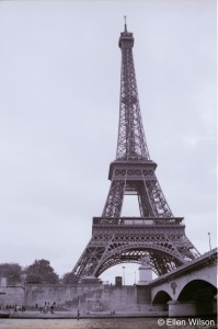 The Eiffel Tower - Copyright Ellen Wilson