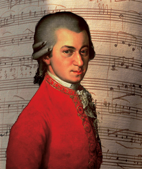 Image result for PIC OF MOZART