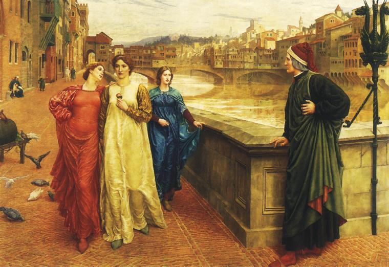 Dante-Beatrice-Florence