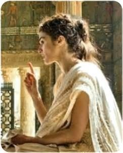 Hypatia, world famous scholar