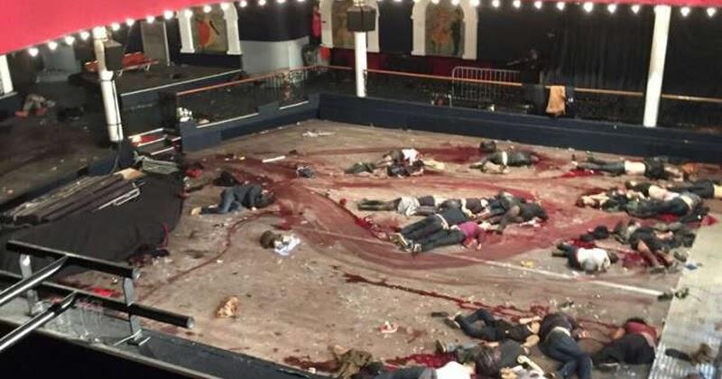 Hicham Hamza, French Investigative Journalist, revealed the Israeli origin of this shocking photo of the Bataclan